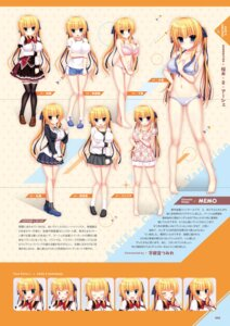 Rating: Questionable Score: 0 Tags: bikini bra cameltoe character_design cleavage expression gym_uniform madosoft pajama pantsu seifuku swimsuits tagme thighhighs wagamama_high_spec User: Twinsenzw