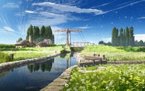 Rating: Safe Score: 81 Tags: landscape sayonara_no_asa_ni_yakusoku_no_hana_wo_kazarou tagme wallpaper watermark User: mood