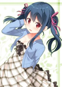 Rating: Safe Score: 70 Tags: cleavage dress hyuuga_azuri User: fairyren