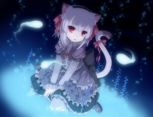 Rating: Safe Score: 52 Tags: animal_ears dress lolita_fashion nekomimi tail yukiuta_sahiro User: blooregardo