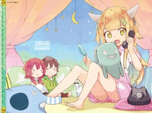 Rating: Safe Score: 30 Tags: digital_version dress feet horns madoromi-chan madoromi-chan_ga_iku. namo User: Twinsenzw