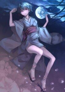 Rating: Safe Score: 18 Tags: ayanami_rei kimono neon_genesis_evangelion nopan yykuaixian User: fireattack