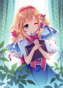 Rating: Safe Score: 116 Tags: alice_margatroid an2a dress fairy shanghai touhou wind_mail User: yong