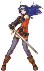 Rating: Safe Score: 8 Tags: dress fire_emblem fire_emblem:_akatsuki_no_megami kita_senri nintendo sword thighhighs wayu User: Animax_Rules