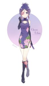 Rating: Safe Score: 28 Tags: chinadress chrome_dokuro cleavage ekita_xuan eyepatch katekyo_hitman_reborn! User: charunetra