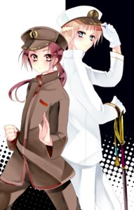Rating: Safe Score: 5 Tags: china hetalia_axis_powers kurabayashi_matoni male sword uniform united_kingdom User: charunetra