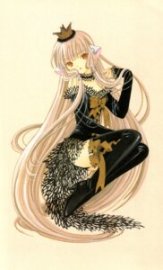 Rating: Safe Score: 17 Tags: chobits clamp freya thighhighs User: yumesangai