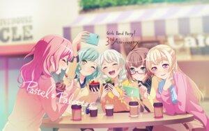 Rating: Safe Score: 19 Tags: bang_dream! bang_dream!_girls_band_party! hikawa_hina maruyama_aya megane shirasagi_chisato sweater tagme wakamiya_eve yamato_maya User: minakomel