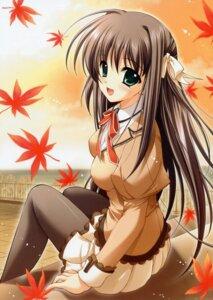 Rating: Safe Score: 33 Tags: misakura_nankotsu pantyhose really_really seifuku shuffle yae_sakura User: midzki