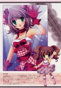 Rating: Safe Score: 19 Tags: alice_garden amami_haruka dress hinata_momo takatsuki_yayoi the_idolm@ster User: MirrorMagpie