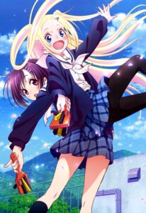 Rating: Safe Score: 41 Tags: hana_n._fontainestand hanayamata pantyhose seifuku sekiya_naru User: drop