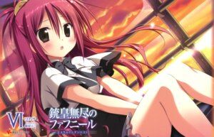 Rating: Questionable Score: 51 Tags: juuoumujin_no_fafnir korie_riko ren_miyazawa seifuku User: Twinsenzw
