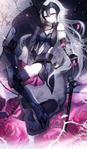Rating: Safe Score: 46 Tags: armor fate/grand_order heels moemoe3345 ruler_(fate/apocrypha) sword thighhighs User: Mr_GT