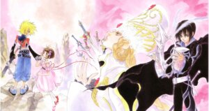 Rating: Safe Score: 3 Tags: elraine inomata_mutsumi judas kyle_dunamis reala tales_of tales_of_destiny User: Radioactive