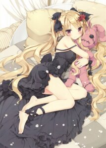 Rating: Safe Score: 139 Tags: dress feet gothic_lolita lolita_fashion peco possible_duplicate User: Twinsenzw