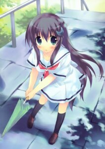 Rating: Safe Score: 31 Tags: amesarasa chiyokawa_rin kiba_satoshi seifuku User: Kalafina