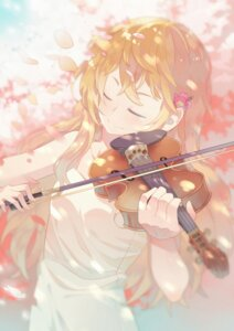 Rating: Safe Score: 36 Tags: dress luo. miyazono_kaori shigatsu_wa_kimi_no_uso User: Mr_GT