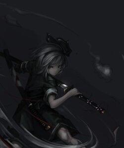 Rating: Safe Score: 25 Tags: konpaku_youmu sword touhou ㅋㅇ User: charunetra