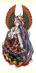 Rating: Safe Score: 7 Tags: fujiwara_no_mokou ritsu_(roboroboro) touhou wings User: charunetra