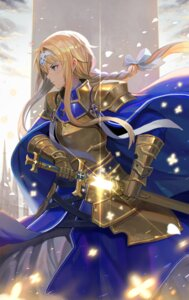 Rating: Safe Score: 37 Tags: alice_schuberg armor rainmood sword sword_art_online sword_art_online_alicization tagme User: Saturn_V