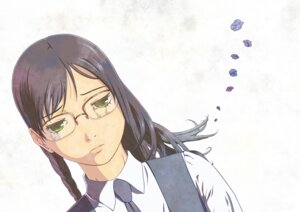 Rating: Safe Score: 2 Tags: aoi_hana hitogi manjoume_fumi megane seifuku User: Radioactive