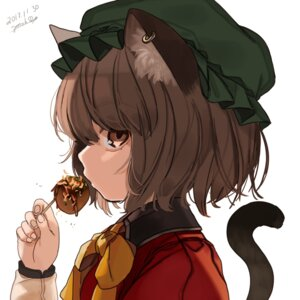 Rating: Safe Score: 24 Tags: animal_ears chen gotoh510 nekomimi tail touhou User: charunetra