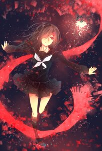 Rating: Safe Score: 33 Tags: kagerou_project lulux_woodoo mekakucity_actors seifuku tateyama_ayano User: zero|fade