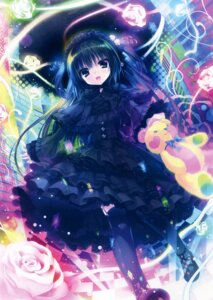 Rating: Safe Score: 88 Tags: dress gothic_lolita lolita_fashion rubi-sama stockings thighhighs User: Twinsenzw