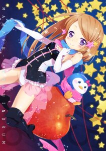 Rating: Safe Score: 31 Tags: mawaru_penguindrum sakuro takakura_himari thighhighs User: animeprincess