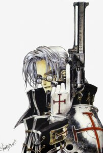 Rating: Safe Score: 3 Tags: abel_nightroad armor gun male megane thores_shibamoto trinity_blood User: Radioactive