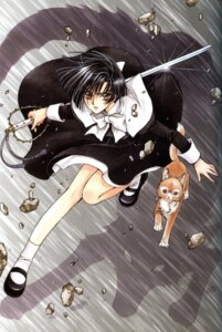 Rating: Safe Score: 6 Tags: clamp inuki nekoi_yuzuriha x User: Radioactive