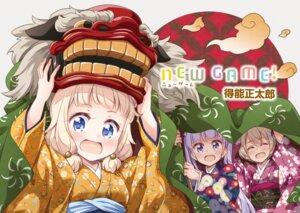 Rating: Safe Score: 22 Tags: hoshikawa_hotaru kimono new_game! sakura_nene suzukaze_aoba tokunou_shoutarou User: kiyoe