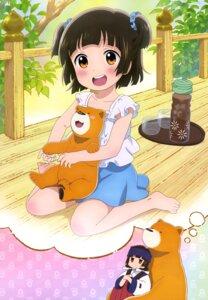 Rating: Safe Score: 57 Tags: amayadori_machi kumai_natsu kumamiko miko User: drop