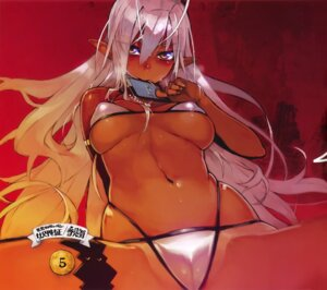 Rating: Questionable Score: 87 Tags: bikini cameltoe cleavage erect_nipples full_metal_daemon_muramasa namaniku_atk pointy_ears sansei_muramasa swimsuits underboob User: Radioactive