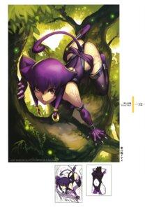 Rating: Safe Score: 30 Tags: animal_ears leotard murasaki_no_ude_ayame nagi_ryou nekomimi square_enix tail thighhighs thong yuukyuu_no_sharin User: Radioactive
