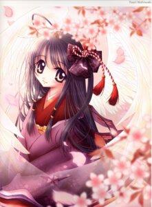 Rating: Safe Score: 5 Tags: kimono nishiwaki_yuuri wings User: Radioactive