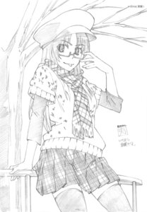 Rating: Safe Score: 4 Tags: e-zona kawashima_ami megane monochrome toradora! User: superogira
