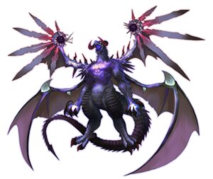Rating: Safe Score: 3 Tags: hirano_katsuyuki horns monster shinryu spectral_souls spectral_souls_ii tail wings User: Radioactive