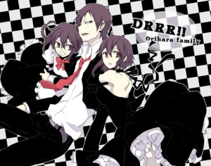 Rating: Safe Score: 6 Tags: dress durarara!! hirasaka maid orihara_izaya orihara_kururi orihara_mairu User: Radioactive