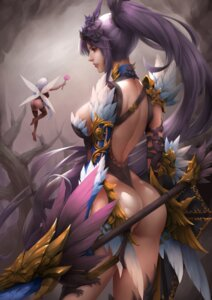 Rating: Questionable Score: 11 Tags: armor ass fairy leotard no_bra thighhighs weapon wings z:d User: mash