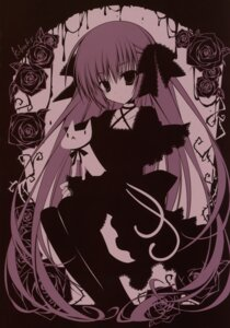 Rating: Safe Score: 18 Tags: gothic_lolita inugami_kira lolita_fashion thighhighs User: crim