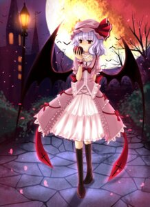 Rating: Safe Score: 27 Tags: cloudy.r remilia_scarlet touhou wings User: GeniusMerielle