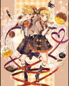 Rating: Safe Score: 12 Tags: kagamine_len kagamine_rin seifuku shinotarou_(nagunaguex) valentine vocaloid User: Dreista