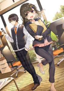 Rating: Safe Score: 22 Tags: business_suit heels mishima_kurone tagme User: zyll