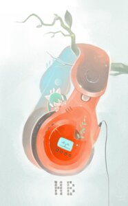Rating: Safe Score: 6 Tags: hatsune_miku headphones vocaloid yuushoku User: eridani