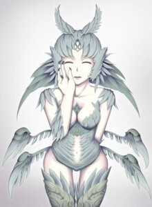 Rating: Safe Score: 7 Tags: breast_hold cleavage final_fantasy garuda leotard tagme thighhighs wings User: kail28391