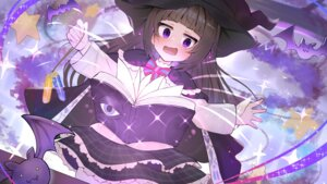 Rating: Questionable Score: 12 Tags: skirt_lift takuan_(mo55ilst) wallpaper witch User: Dreista