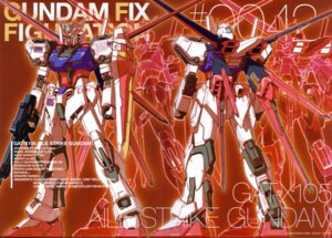 Rating: Safe Score: 5 Tags: aile_strike_gundam crease gun gundam gundam_seed katoki_hajime mecha User: Rid