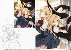 Rating: Safe Score: 26 Tags: alice_margatroid dress ke-ta kirisame_marisa sketch touhou User: Radioactive