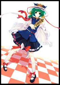 Rating: Safe Score: 14 Tags: kyama shikieiki_yamaxanadu touhou User: Nekotsúh